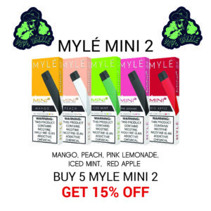 Shop Five Myle Mini 2 Each One Get 15% Off