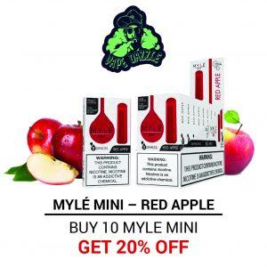 Best Myle Mini Red Apple Full box in Dubai UAE