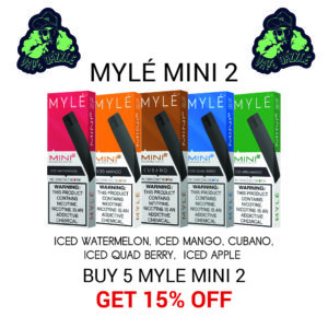 Shop Myle Mini 2 Mix Five Bundle Offer Get 15% Off
