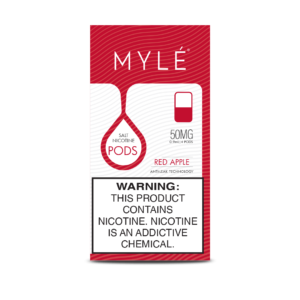 MYLE Vape Red Apple Magnetic Pods