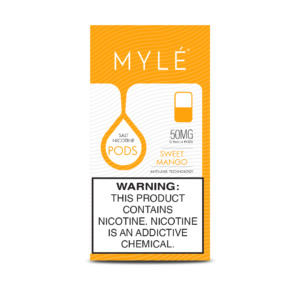 Best Mylé V4 Sweet Mango Flavor Pods 50mg