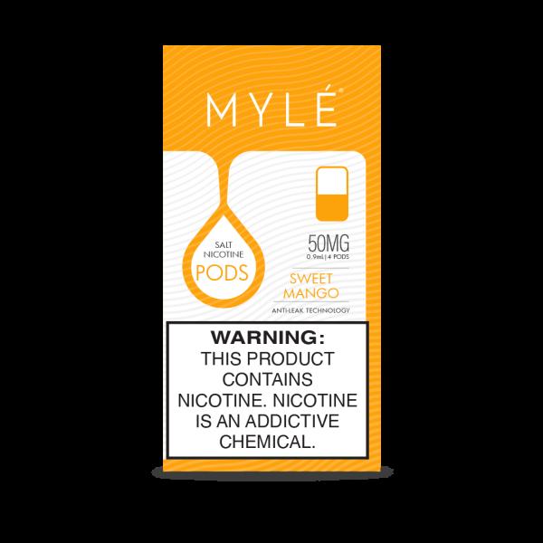 Best Mylé V4 Sweet Mango Flavor Pods 50mg