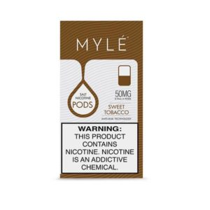 MYLÉ V4 Pods sweet tobacco Flavor 50mg in Dubai UAE