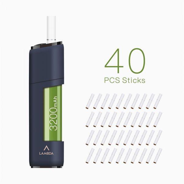 LAMBDA CC Heat Not Burn Device Starter Kits for Tobacco Sticks 3