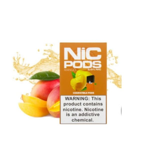 JUUL Compatible Nic Pods (Pack of 4) 1