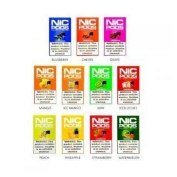 JUUL Compatible Nic Pods (Pack of 4) 2