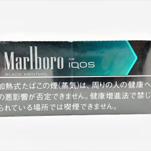 Marlboro BLACK menthol Heets